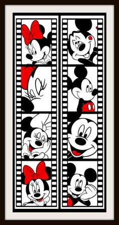Vinil Decorativo Disney - Mickey & Minnie. Consulte Precio.