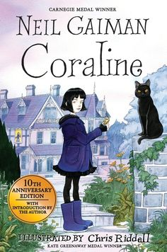 Buy Coraline by Neil Gaiman at Mighty Ape NZ. The bewitching tenth-anniversary edition of the classic children's novel Coraline by Neil Gaiman, featuring spellbinding illustrations from Chris Ridd. Coraline Jones, Coraline Book, Coraline Neil Gaiman, The Graveyard Book, Books To Read, My Books, Great Books, Book Lists, The Book
