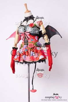 Love Live! New UR Nazomi Tojo Little Demon Transformed Uniform Halloween Cosplay Costume_7