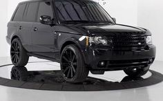 Range rover: black on black