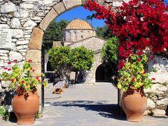 Moni Thari, Rhodes, Greece
