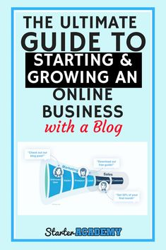 The Ultimate Guide to Starting and Growing an Online Business Make Money Blogging, Make Money Online, How To Make Money, Business Tips, Online Business, Online Marketing, Affiliate Marketing, Content Marketing, Internet Marketing