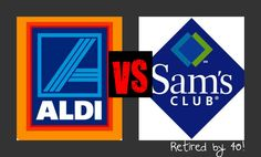 Aldi vs. Sam's - Is the Warehouse store really worth the fee?  I break down the prices of many commonly purchased items to find out! http://www.retiredby40blog.com/2014/03/10/is-my-sams-membership-worth-it/