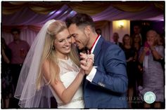 Enjoying their first dance together as husband and wife #truelove #wedding