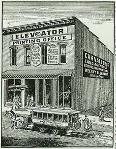 Fort Smith Elevator Bldg - weekly city newspaper.