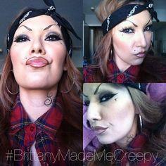 Chola makeup cool make up