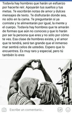 Tu eres mi hombre especial Couple Quotes, Quotes For Him, Love Quotes, Tumblr Love, I Love You, My Love, Life Words, Sweet Words, Forever Love