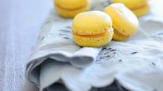 Zitronencreme-Macarons