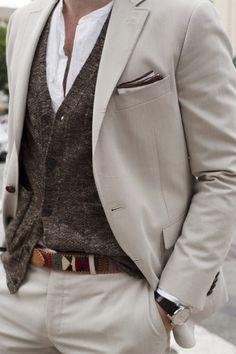 Knitwear + linen