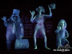The Haunted Mansion Ghosts