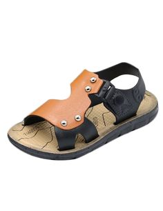 Amazon.com: Eden Babe Boy's Plastic Beach Fisherman Sandals(Toddler/Little Kid): Shoes