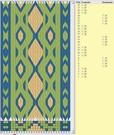 Bunad, Smykker, vev & rosemaling: Brikkevev