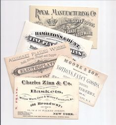 Vintage french business cards parlez vous francais pinterest vintage business card ephemera society of america reheart Gallery
