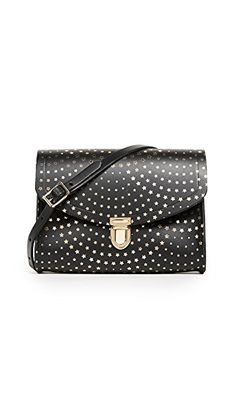 Cambridge Satchel Push Lock Bag In Star Haze Print Designer Handbags On Sale, Cambridge Satchel, Bag Sale, Continental Wallet, Louis Vuitton Damier, Dust Bag, Shoulder Bags, Accessories, Fashion Stores