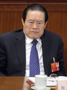 """http://pinterest.com/pin/7248049377271667/ China's former security chief sentenced to life for corruption  """"China's former security chief Zhou Yongkang was sentenced to life in prison on corruption charges Thursday, following a closed-door trial.  Zhou, 73, a former member of the ruling Communist Party's Politburo Standing Committee — the party's top echelon of power — is the highest-ranking official to face charges in President Xi Jinping's ongoing anti-corruption campaign."""""""