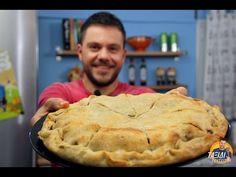 Γυρόπιτα... Πίτα με Γύρο!!! - YouTube Desserts, Youtube, Food, Recipes, Tailgate Desserts, Deserts, Essen, Postres, Dessert