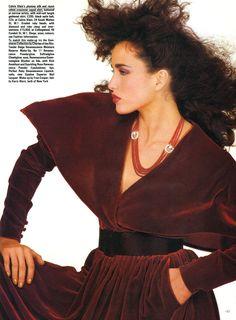 Andie MacDowell - 1982 12 Vogue Uk