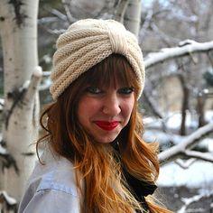 The Purl Knit Turban by Sara Dudek