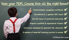 """TEFL Master is the leading provider of #teflcourses in the world. Our TEFL courses have been designed and written by a professional team of TEFL experts and are accredited and approved by the TEFL Council. The TEFL Master course is a comprehensive course for those who want to master TEFL. It includes 30 modules of """"key Teaching Skills"""" Plus additional modules on """"Essential Grammar Skills"""" and """"Core English Language Skills"""". To know more visit teflmaster.com."""