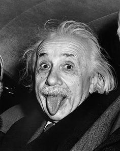 Einstein with his tong out  - Arthur Sasse