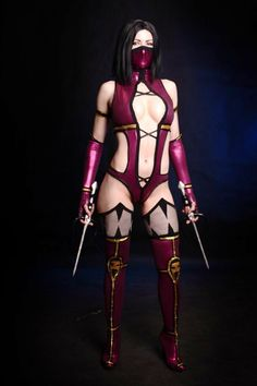 A Drool Worthy Mileena cosplay by AsherWarr More cosplay at AllThatsEpic& Follow us on Twitter! Submit us your cosplays