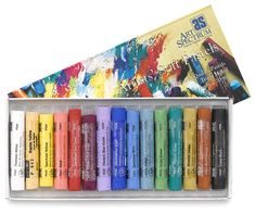 Assorted Colors, Set of 15 -Art Spectrum Artists' Soft Pastel Sets at dickblick.com