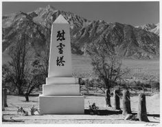Famed Landscape Photographer Ansel Adams' Dramatic Photos of a Japanese-American Internment Camp - Resource Travel Ansel Adams Photos, Cemetery Monuments, Dramatic Photos, Haunting Photos, California History, Central California, Japanese American, Powerful Images, Landscape Photographers