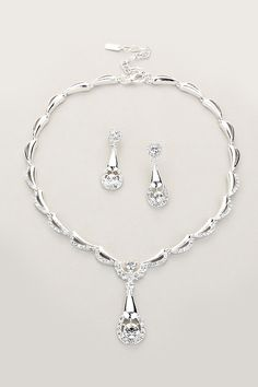 Madeline Necklace in Silver on Emma Stine Limited