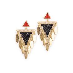 Snake Chandelier Earrings