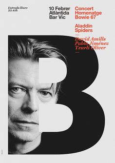 Poster Bowie on Flickr.Poster Bowie by Quim Marin