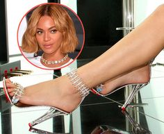 The internet is buzzing about Beyoncé's newest bling — an eye-popping pair of $345,000 diamond stilettos that she'll likely wear in an upcoming music video. The special-edition House of Borgezie shoes feature 1,300 diamonds hand set in 18-karat white gold. Full story and more pics at our blog... http://nordjewelers.thejewelerblog.com