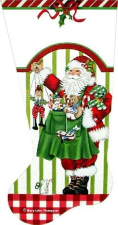Melissa Shirley Designs | Hand Painted Needlepoint | Christmas Toys