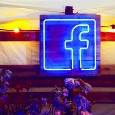 Cool @facebook neons for the #housefestival Twickenham London