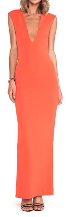orange maxi dress  http://rstyle.me/n/nzzwipdpe