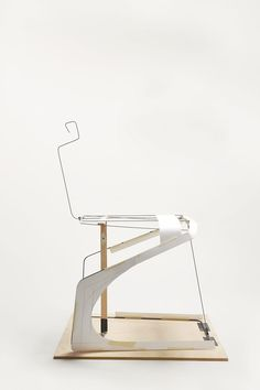 frederic rätsch x DuPont reveal the double cantilever chair (DCC)