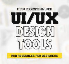 New Essential UI Design Tools & Resources for Web Designers #html5tools #jqueryplugins #webdesign #uidesign #uxdesign