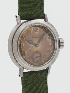 Waltham Premier U.S. Military WWII Era Wristwatch 2