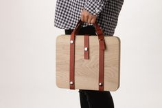 Wooden Carrying Bags by DonguriCo » Retail Design Blog