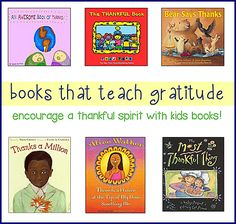 Great kids books are super effective for teaching gratitude and being grateful. Check out these great books!