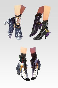And more fancy shoes