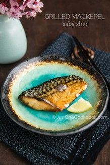 Grilled Mackerel | Easy Japanese Recipes at JustOneCookbook.com