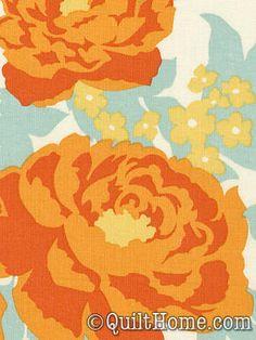 Heirloom JD47-Amber Fabric by Joel Dewberry