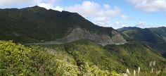 Rimutaka valley outside Wellington on route to Napier