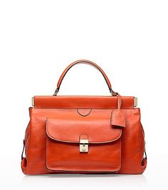Satchel from Tory Burch. LOVE this color.