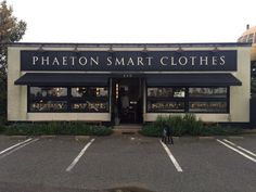 PHAETON SMART CLOTHES in Ishikawa Japan @phaeton_smart_clothes_239 @phats_square_company @oldjoebrand @oldjoe_flagshipstore @porterclassic @porterclassic_kanazawa via @thenewordermagazine Instagram