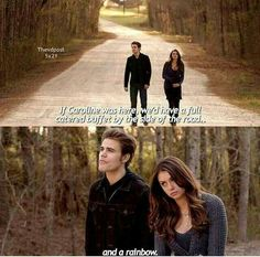 #TVD after all its Caroline we are talking about