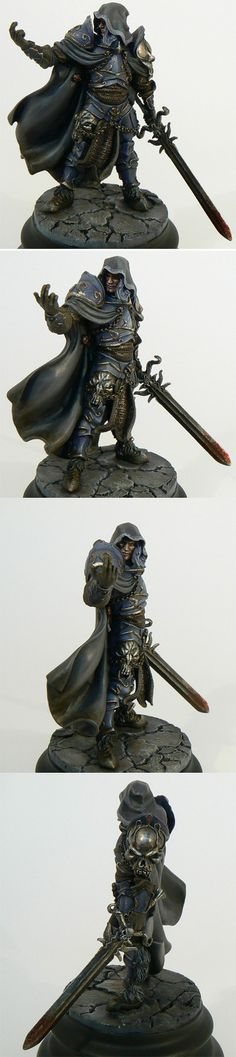 mercenaire Reaper Miniatures, Fantasy Miniatures, Fantasy Model, Fantasy Warrior, Fantasy Paintings, Mini Paintings, Warhammer Fantasy, Warhammer 40k, Eldritch Knight