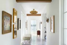 """fabulous designs of a talented duo. Olivia O'Bryan is a partnership of sisters, Ashley """"Olivia"""" Waddell and Courtney """"O'Bryan"""" Whatley. Recently named to Traditional Home Magazine's New Trads for 2016 Traditional Home Magazine, Home Furniture, Furniture Design, Hallway Inspiration, Miami Houses, Villa, Tropical Landscaping, Florida Home, House And Home Magazine"""