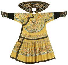 императорский летний халат 1851-1861  . Китай