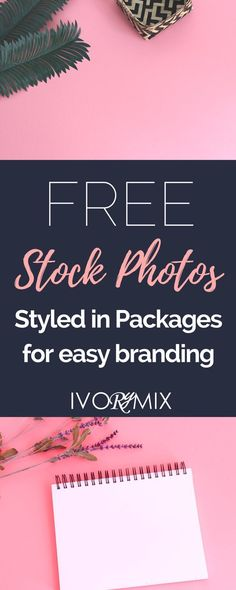 Free Stock Photos styled and packaged for easy branding on your blog from Ivorymix's library